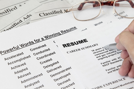 winning resume writing 5
